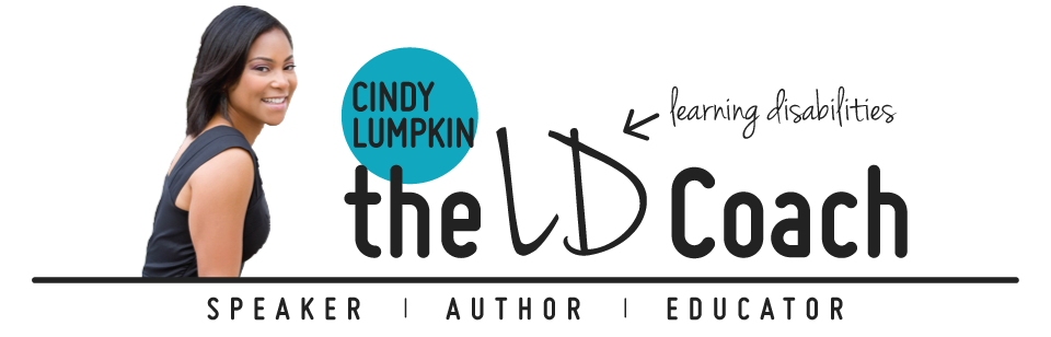 Cindy Lumpkin, The Learning Disabilites Coach - Speaker | Author | Educator